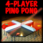 4-player ping pong or regular ping pong table