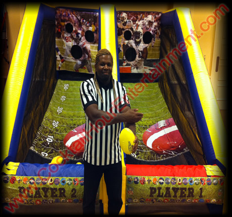football toss game rental for party