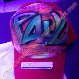 airbrush graffiti hat