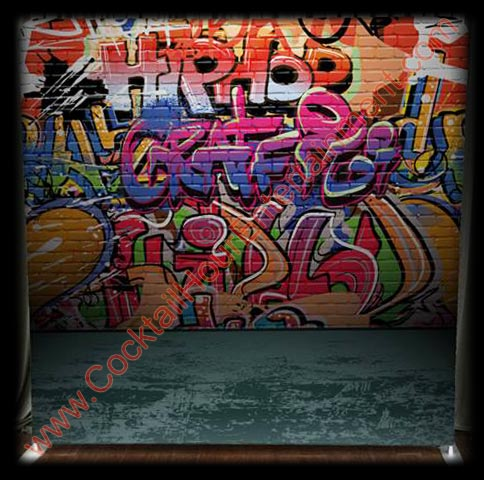 graffiti hip hop backdrop