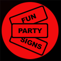 free photo booth party signs